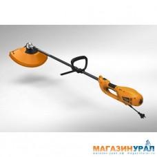Электротриммер CARVER TR-1500S (1,2 кВт, разъемная прямая штанга, нож 3-лоп., леска 2,4 мм)