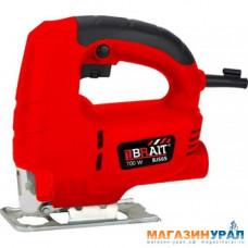 Лобзик BRAIT BJS65/700 (700Вт, 65мм, 6 ск. 0-3000 об/мин, быстр. зажимное крепл.)