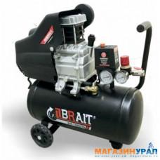 Компрессор BRAIT KM-1500/24 (масляный, коаксиальный, 1500 Вт, 24 л, 240 л/мин.)