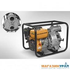 "Мотопомпа Carver CGP 5580 D для грязной воды (4Т, 7,0 л.с./5,2 кВт, вх/вых.- 3""/80 мм)"