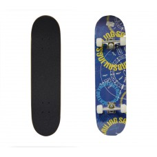 Скейтборд BlackAqua 901YL синий