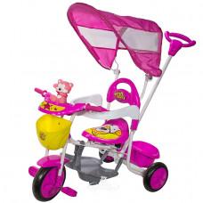 Велосипед МУЛЬТЯШКА Мото розовый