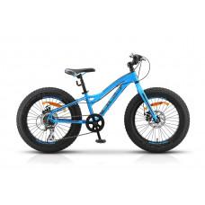 """Велосипед STELS 20"""" Aggressor MD рама 11""""  V010 синий"""