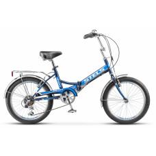 "Велосипед STELS 20"" Pilot-450 6-sp синий"