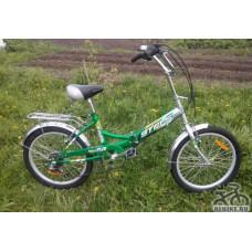 """Велосипед STELS 20"""" Pilot-450 6-sp зелёный"""