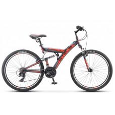 """Велосипед STELS 26"""" Focus MD 21-sp чёрно-красный V010"""
