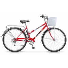 "Велосипед STELS 28"" Navigator-350 Lady рама 20"" Красный +корзина Z010"