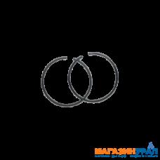 Кольцо поршневое для триммеров 43 см3 (2 шт) O = 40 мм